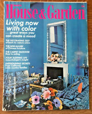 House and Garden Magazine 1972 Richard Meier Nanda Vigo Jay Steffy Chinese