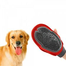Dog Grooming Glove Cat Pet Groom Glove Mitt Dog Puppy Washing Cheaning Glove