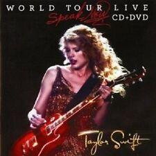 "TAYLOR SWIFT ""PARLA ORA MONDIALE"" CD + DVD NUOVO"