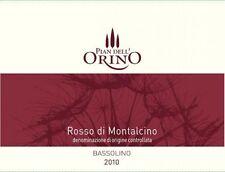 6 BT. ROSSO DI MONTALCINO DOC 2012 PIAN DELL' ORINO