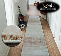 Very Thick Hall Runner SHADOW 8622 Width 70-120cm extra long Soft Densely RUGS