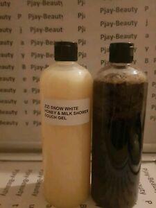 Zizi Snow White Lemon Black Liquid Whitening Soap.+ ZIZI honey &Milk Body Wash