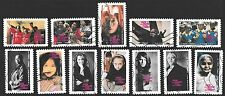 France 2010 No Violence Against Women Campaign Complete Set of Stamps P Used S/A