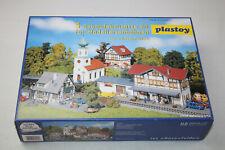 plastoy H0 / 5 Gebäudebausätze für Modelleisenbahnen #0186