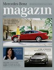 Mercedes Magazin 2 2011 SLS AMG E-Cell Smart forspeed C 350 Coupé Lira Bajramaj