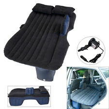 Inflatable Car Air Bed Mattress Airbeds Back Seat Cushion With 2 Pillows Travel