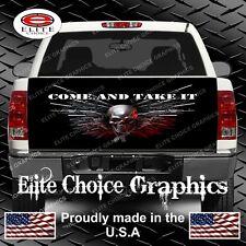 Skull Gun Rights Truck Tailgate Wrap Vinyl Graphic Decal Sticker Wrap