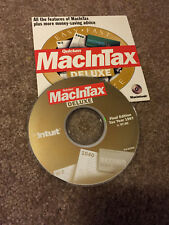 QUICKEN MacInTax Deluxe 1997 Final Edition CD for Macintosh