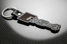 Audi RS4 Leather Keyring, Keychain, Schlüsselring, Porte-clés QUATTRO A4 Avant