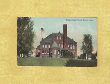 CT Bristol 1913 Antique postcard HIGH SCHOOL CONN Education to Hadlyme