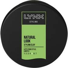 Lynx Casual Styling Clay 75ml - reworkable hold with a matt finish lasts longer