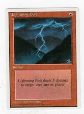 Lightning Bolt - 4th Edition Series - 1995 - Magic the Gathering