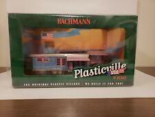 Bachmann Plasticville # 45310 Trailer Park with Two Trailers & Flag O Scale