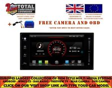 "7"" NAVI WIFI ANDROID 10.0 DAB+ BT CARPLAY FOR TOYOTA HILUX TERIOS PRADO K6178"