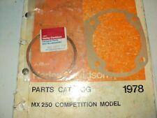 1978 HARLEY AERMACCHI  MX-250CC CYLINDER&BASE  GASKET 16731-77M 16718-75P   AMF