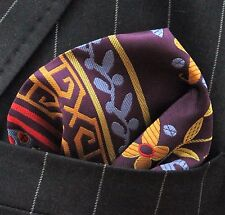 Hankie Pocket Square Handkerchief Arabesque Multicolour