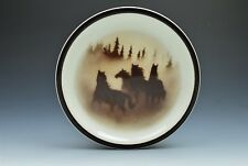 "Wild Horses Big Sky Carvers Thomas Norby 7.75"" Salad Plate (s)"