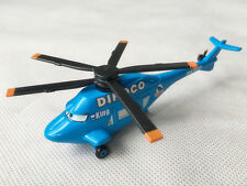Mattel Disney Pixar Car Dinoco Helicopter 1:55 Metal Toy Plane Loose