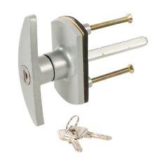 Poignée de verrouillage pour porte de garage - 75 mm - Losange