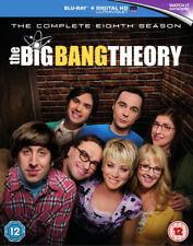 The Big Bang Theory: The Complete Eighth Season DVD (2015) Johnny Galecki