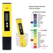 Digital PH Wert Messgerät Wasser PH Tester Meter Prüfer Aquarium Pool LCD WYS