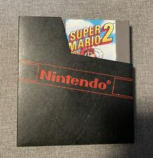 Original Vintage Super Mario Bros 2 Nintendo NES 1988 Game.
