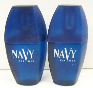 Dana Navy for Men After Shave Splash 1.7 oz Lot of 2 New No Box