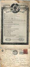 Fascio fiorentino delle opee di assistenza e resistenza civile, viaggiata 1918