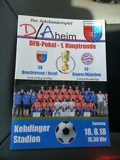 Offizielles Programm SV Drochtersen/Assel vs FC Bayern München DFB-POKAL