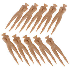 10Pcs/lot 70mm Plastic Naked Nude Lady Golf Tee Golf Model Beauty Ball Nai~GN
