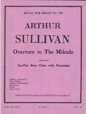 Overture to The Mikado - Sullivan / King - Brass Choir - Music for Brass No. 102