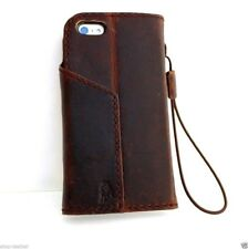 genuine leather davis case for iphone 5s 5 5c c book wallet cover hand made pro