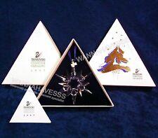 Swarovski 1997 annual snowflake ornament mint in box with certificate !