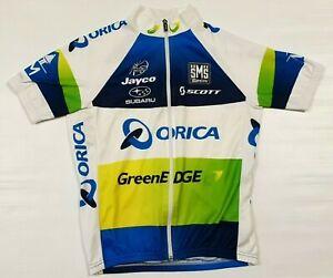 SMS Santini Orica Jayco GreenEdge Short Sleeve Cycling Jersey Men's S