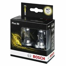 BOSCH Plus 90 Headlight Bulb 477 H7 12V - TWIN PACK