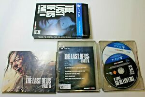 The Last of Us Part II Special Edition (Playstation 4 2020) Steelbook PS4