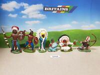 Britains Herald Wild West Indians (lot 3292)