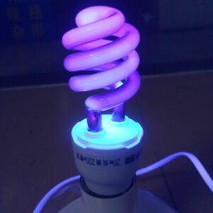 40w E27 Ultraviolet Quartz Uv Black Light Lamp Spiral Purple Light Indoor Energy