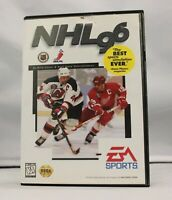 Complete NHL 96 Original Sega Genesis Game