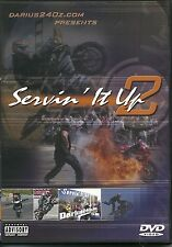 SERVIN' IT UP VOLUME 2 - MOTOR SPORTS, MOTOR BIKE DVD