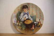~Little Jack Horner~Fourth Issue~Mother Goose By John Mcclelland Collector Plate