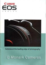 Canon EOS 1n, 5, 50, 100, 500, 1000 N & FN Camera & Lens Brochure. Others Listed