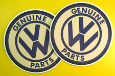 VW Parts Retro vintage style Stickers Decals beetle