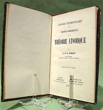 DENIGÈS (G.). Exposé... des principes fondamentaux de la théorie atomique (1892)