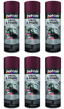 Dupli-Color Vinyl And Fabric Coating Burgundy 11 Oz. Aerosol (6 Pack)