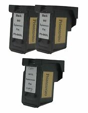 Printenviro Reman Ink Cartridges for Canon 2x PG-640XL Black + 1x CL-641XL Color