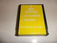 Atari  2 Pak Special - Star Warrior | Frogger