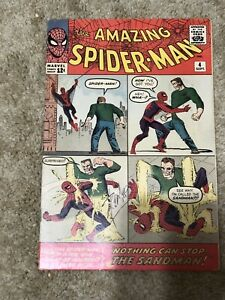 amazing Spiderman 4 first sandman Signed By Stan Lee!!