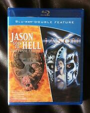 AUTHENTIC JASON GOES TO HELL / X BLU-RAY FRIDAY THE 13TH DOUBLE FEAT SEALED RARE