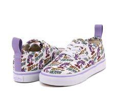 Vans AUTHENTIC ELASTIC Dallas Clayton Toddler Shoes 7 Artist Art